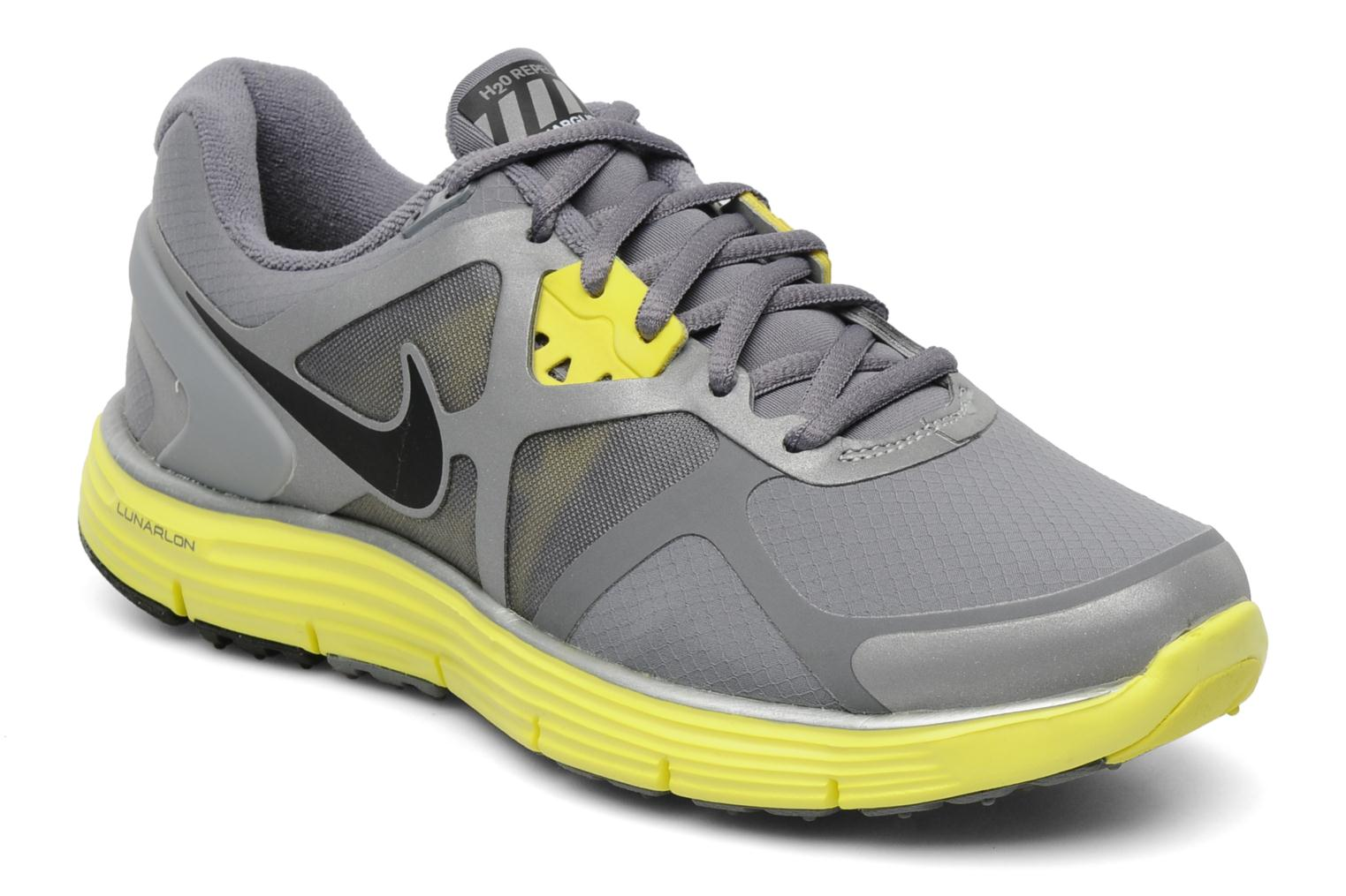 a054f762e7f10 ... real sport shoes nike wmns nike lunarglide 3 shield grey detailed view  pair view 44dec 77610