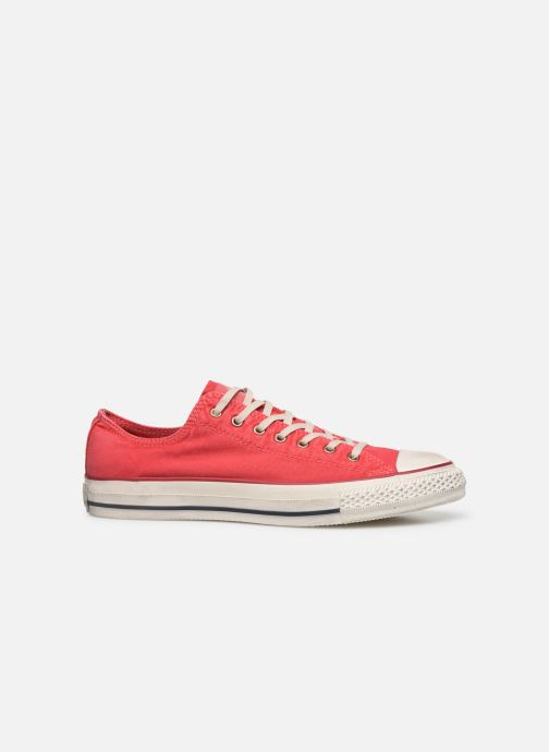 Sneakers Converse Chuck Taylor All Star Fashion Washed Ox M Rosso immagine posteriore