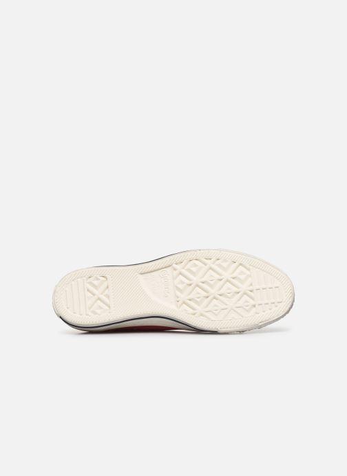 Sneakers Converse Chuck Taylor All Star Fashion Washed Ox M Rosso immagine dall'alto