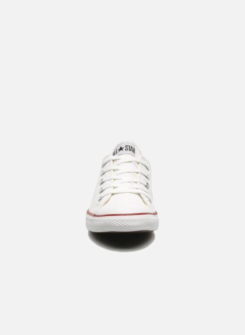 Sneaker Converse All Star Dainty Canvas Ox W weiß schuhe getragen