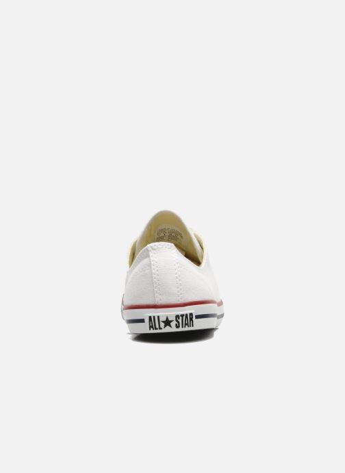 Sneaker Converse All Star Dainty Canvas Ox W weiß ansicht von rechts