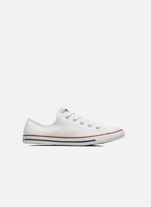 Sneaker Converse All Star Dainty Canvas Ox W weiß ansicht von hinten