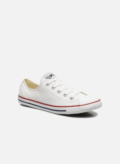 Sneaker Converse All Star Dainty Canvas Ox W weiß detaillierte ansicht/modell