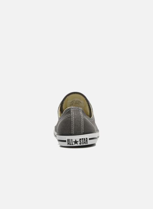 Sneakers Converse All Star Dainty Canvas Ox W Grigio immagine destra