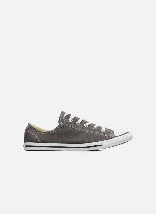 Sneaker Converse All Star Dainty Canvas Ox W grau ansicht von hinten