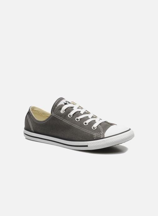Sneakers Converse All Star Dainty Canvas Ox W Grå detaljeret billede af skoene