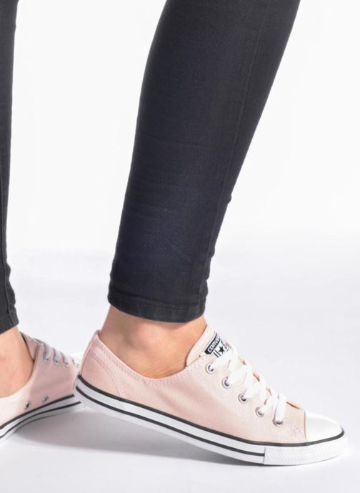 Sneakers Converse All Star Dainty Canvas Ox W Nero immagine dal basso