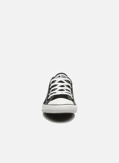 Sneakers Converse All Star Dainty Canvas Ox W Nero modello indossato