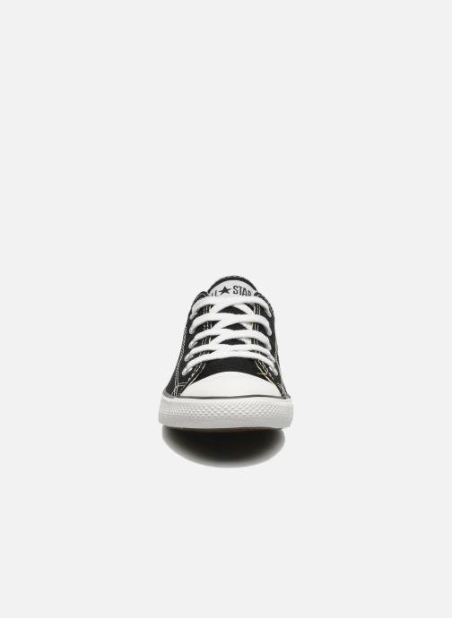 Sneakers Converse All Star Dainty Canvas Ox W Nero modello indossato