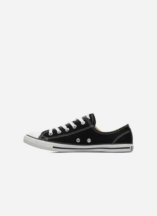 Sneaker Converse All Star Dainty Canvas Ox W schwarz ansicht von vorne