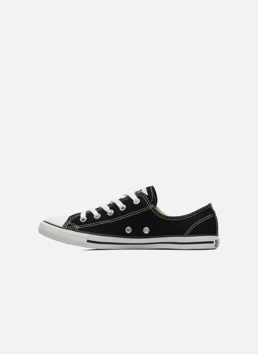 Sneakers Converse All Star Dainty Canvas Ox W Nero immagine frontale
