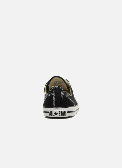 Sneakers Converse All Star Dainty Canvas Ox W Nero immagine destra
