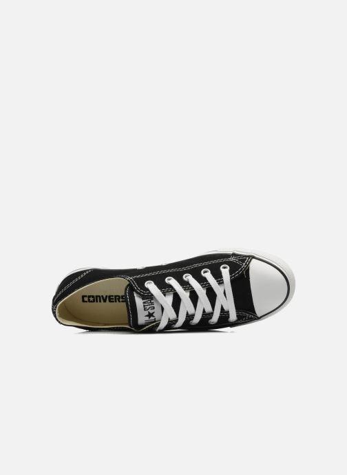 Sneakers Converse All Star Dainty Canvas Ox W Svart bild från vänster sidan