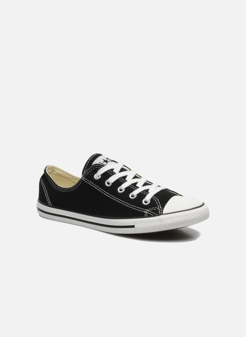 Baskets Converse All Star Dainty Canvas Ox W Noir vue détail/paire