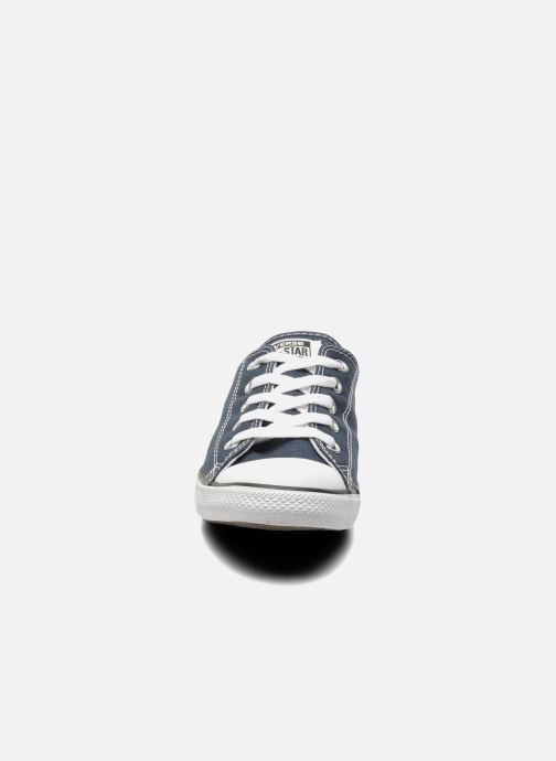 Sneaker Converse All Star Dainty Canvas Ox W blau schuhe getragen