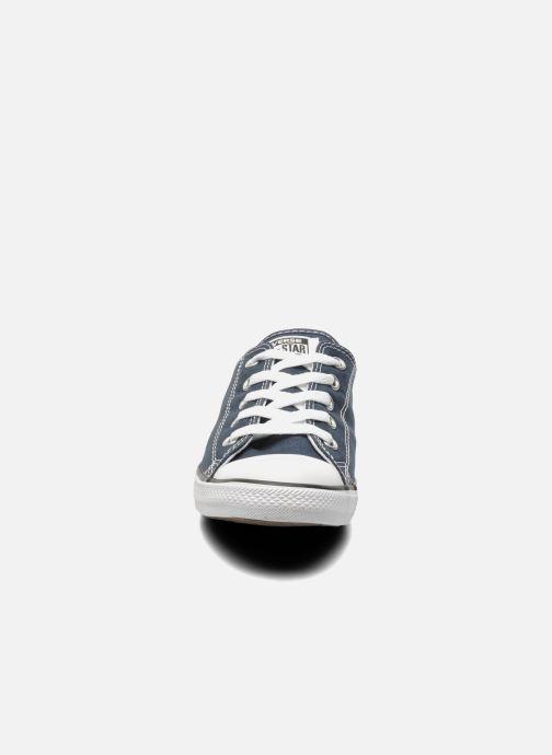 Baskets Converse All Star Dainty Canvas Ox W Bleu vue portées chaussures