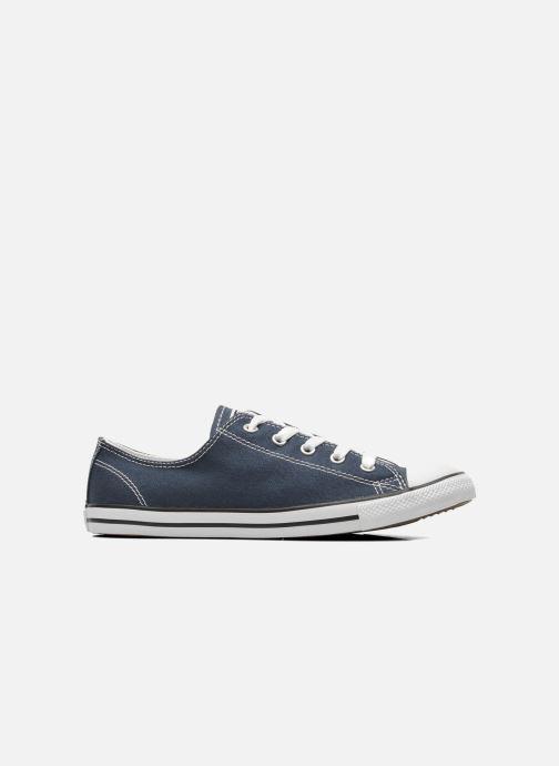 Sneaker Converse All Star Dainty Canvas Ox W blau ansicht von hinten