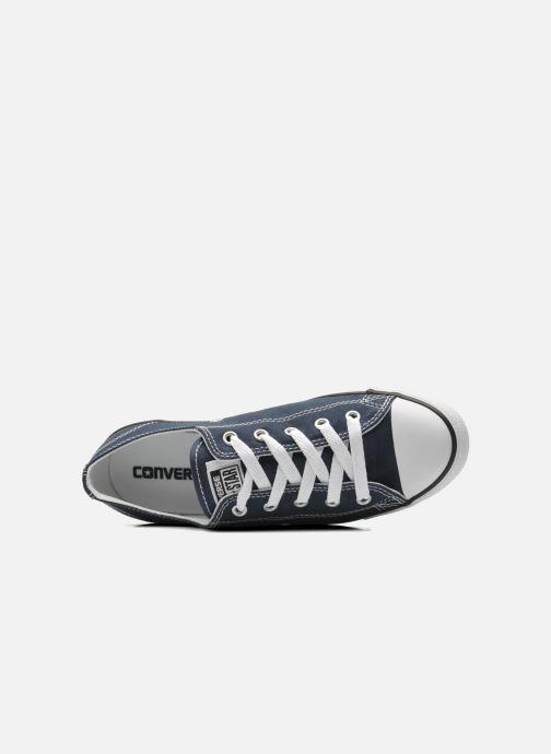 Sneaker Converse All Star Dainty Canvas Ox W blau ansicht von links