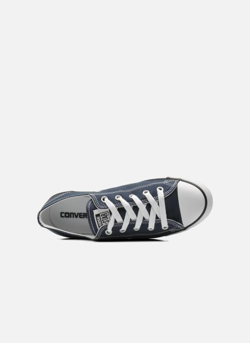 Sneakers Converse All Star Dainty Canvas Ox W Blauw links
