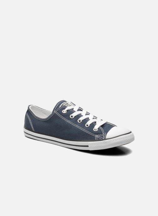 Sneaker Converse All Star Dainty Canvas Ox W blau detaillierte ansicht/modell