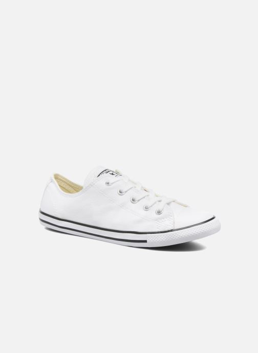 23729675ed86 Trainers Converse All Star Dainty Canvas Ox W White detailed view  Pair view