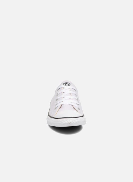 Baskets Converse All Star Dainty Canvas Ox W Violet vue portées chaussures