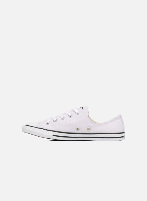 Baskets Converse All Star Dainty Canvas Ox W Violet vue face