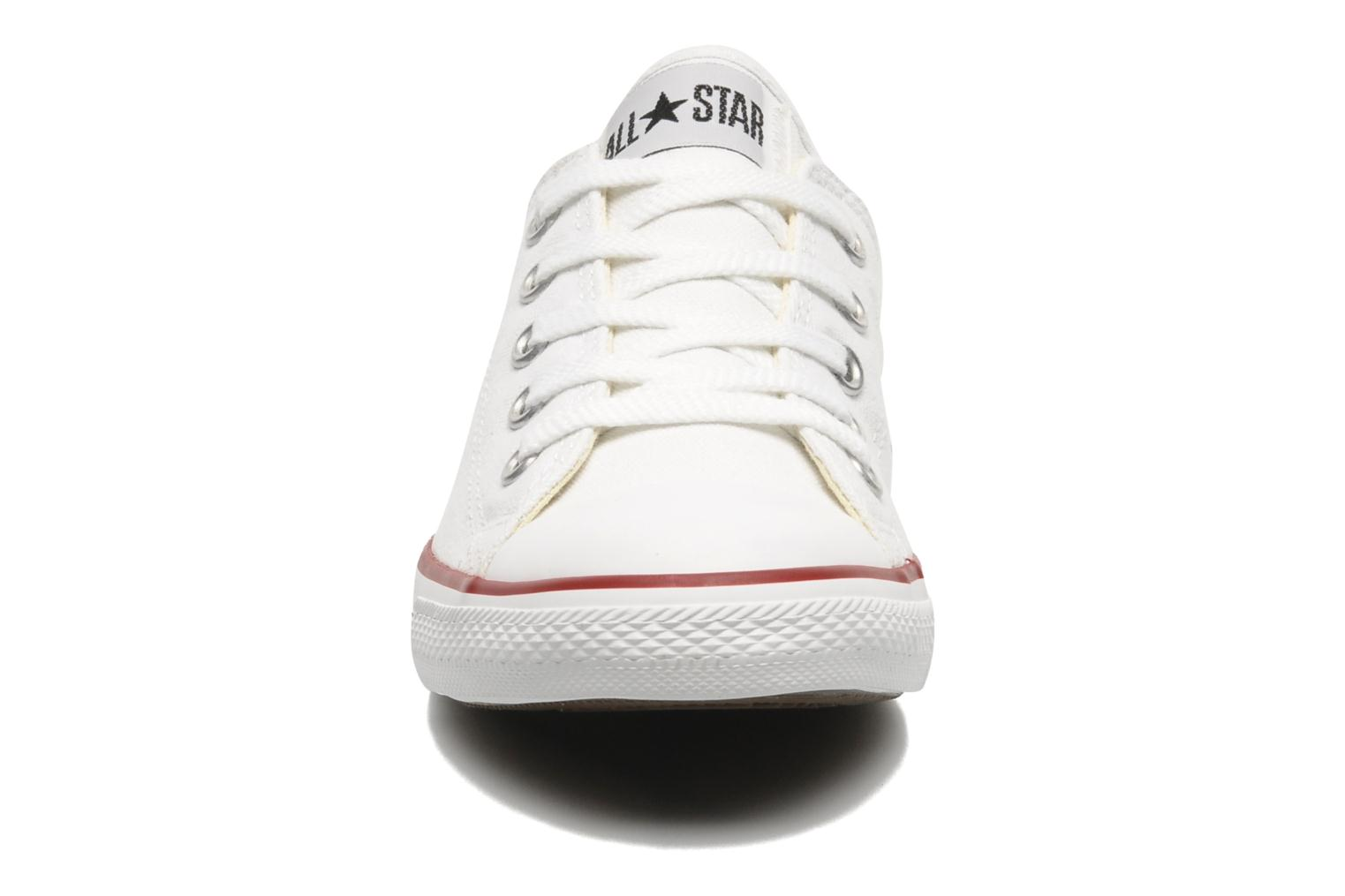 Deportivas Converse All Star Dainty Canvas Ox W Blanco vista del modelo