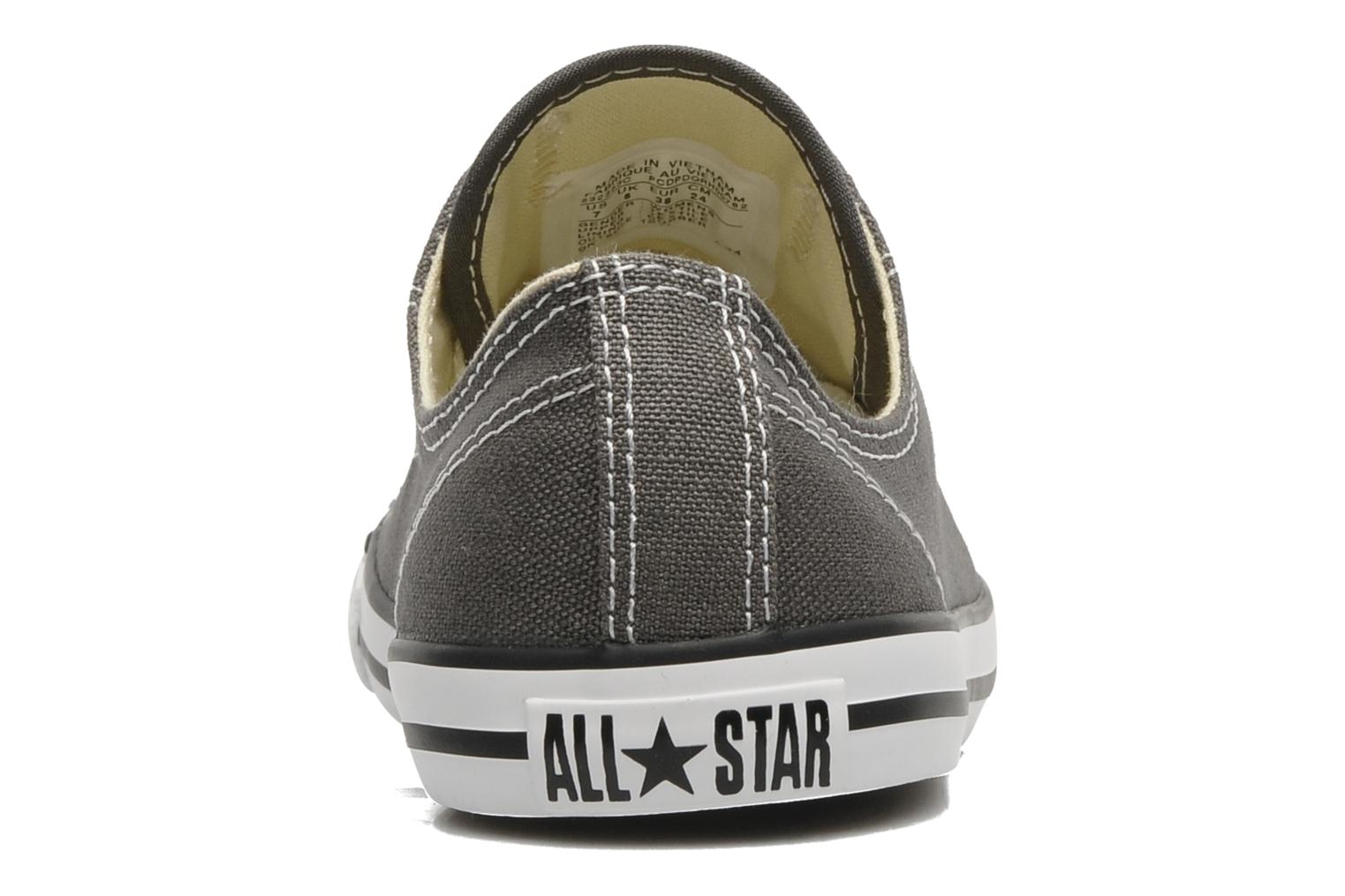 Sneakers Converse All Star Dainty Canvas Ox W Grå Bild från höger sidan