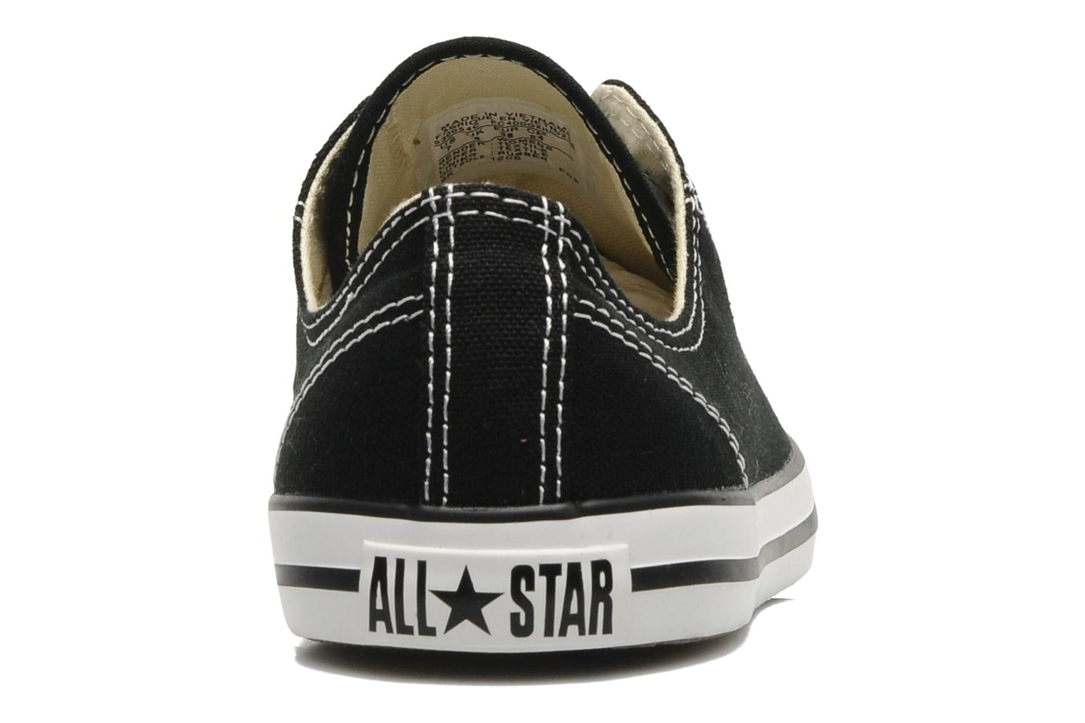 Sneakers Converse All Star Dainty Canvas Ox W Zwart rechts