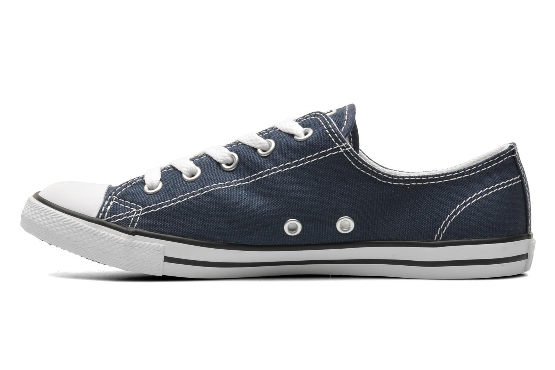 Sneakers Converse All Star Dainty Canvas Ox W Blå bild från framsidan