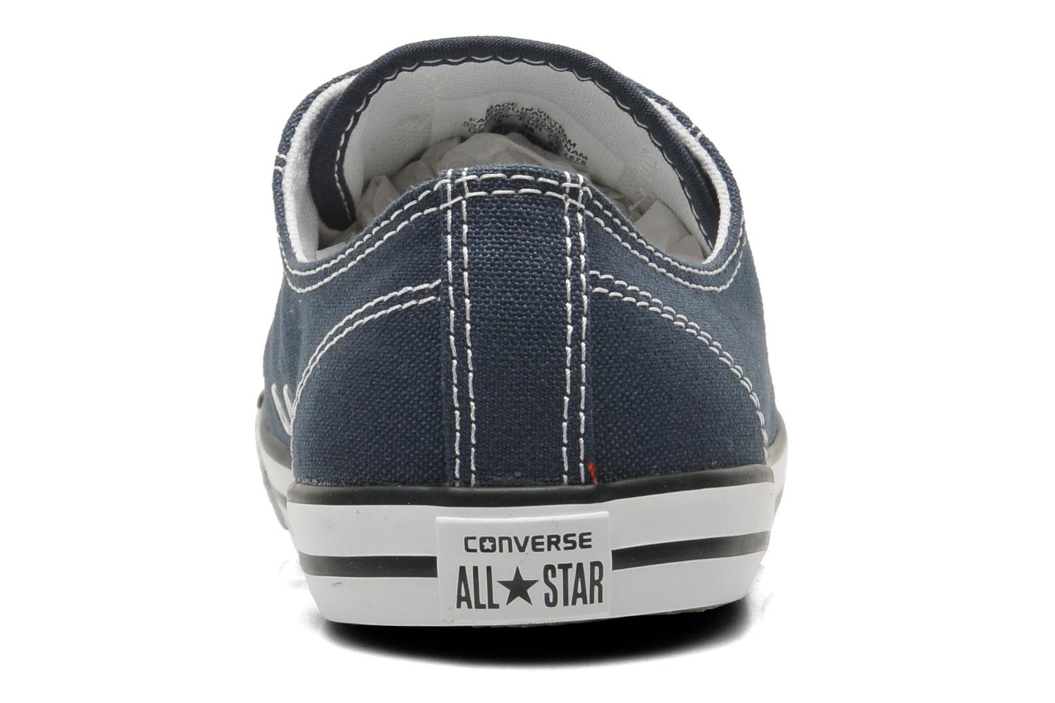 Sneakers Converse All Star Dainty Canvas Ox W Blauw rechts