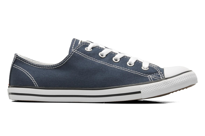 Sneakers Converse All Star Dainty Canvas Ox W Blå bild från baksidan