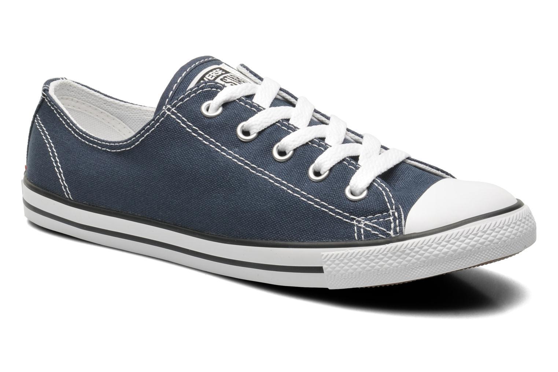 Baskets Converse All Star Dainty Canvas Ox W Bleu vue détail/paire