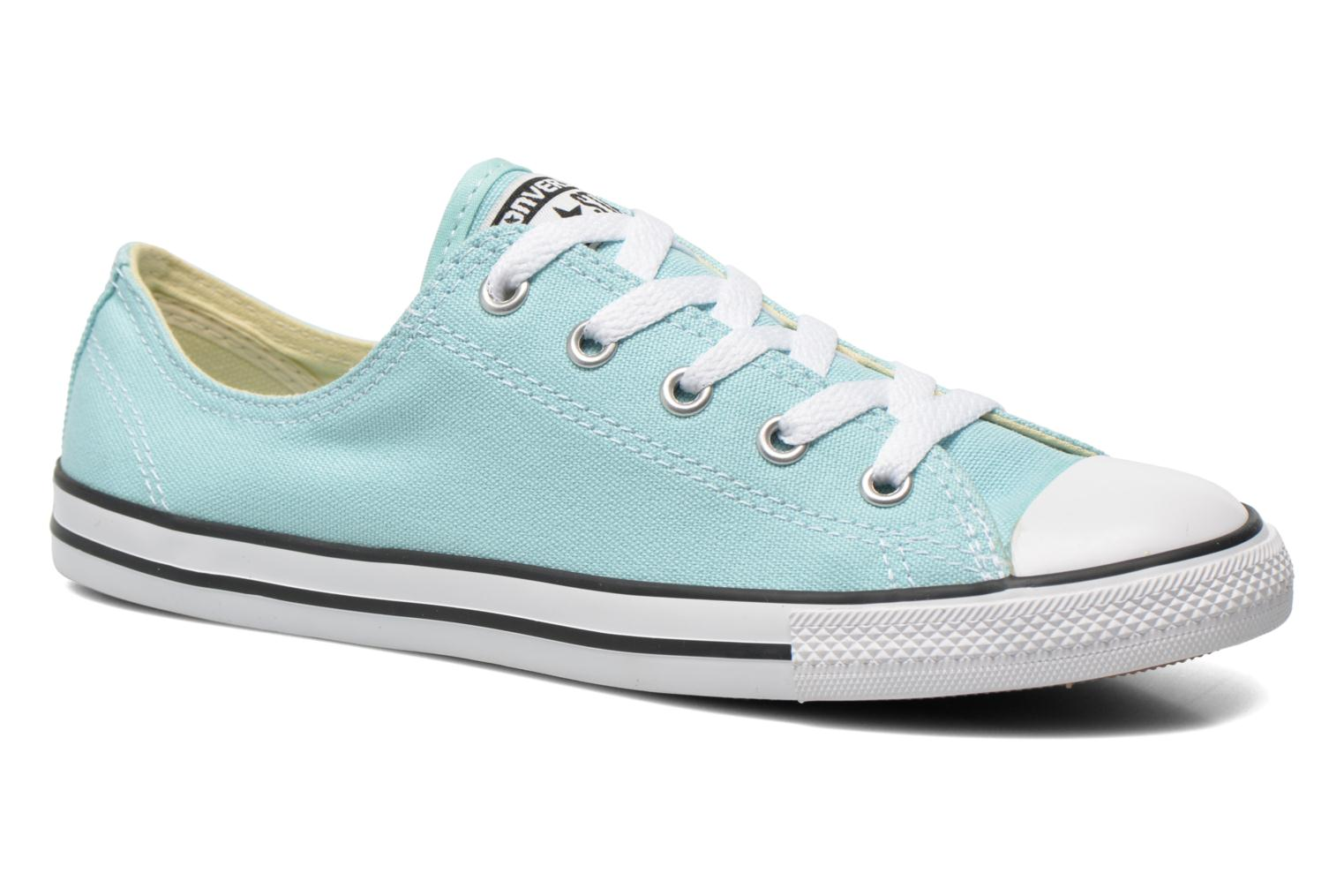Baskets Converse All Star Dainty Canvas Ox W Vert vue détail/paire
