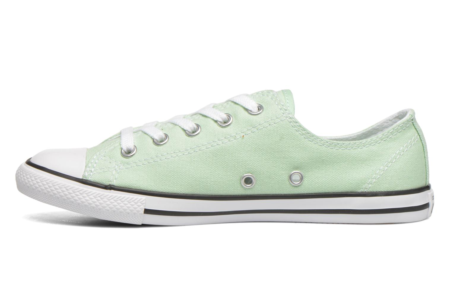 Trainers Converse All Star Dainty Canvas Ox W Green front view