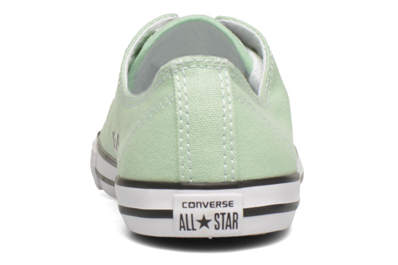 Sneaker Converse All Star Dainty Canvas Ox W grün ansicht von rechts