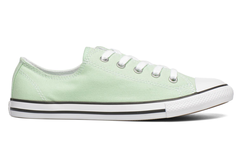 Sneaker Converse All Star Dainty Canvas Ox W grün ansicht von hinten