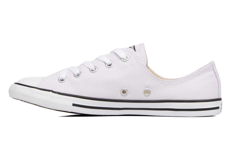 Sneaker Converse All Star Dainty Canvas Ox W lila ansicht von vorne