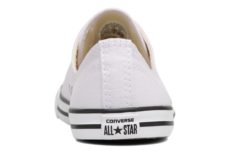 Sneakers Converse All Star Dainty Canvas Ox W Lila Bild från höger sidan