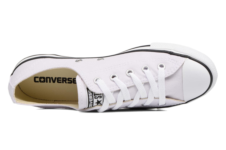 Sneakers Converse All Star Dainty Canvas Ox W Lila bild från vänster sidan