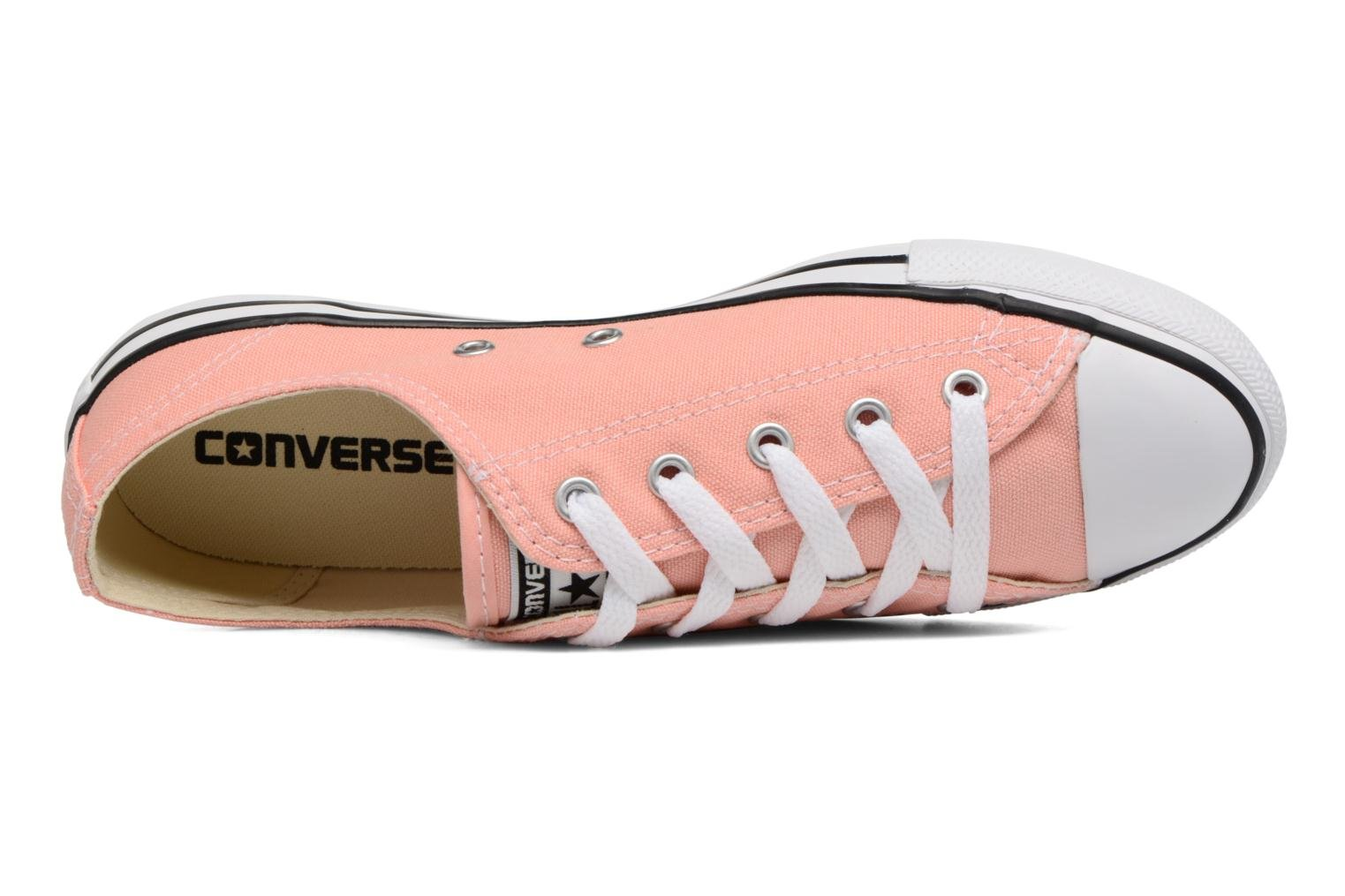 Baskets Converse All Star Dainty Canvas Ox W Rose vue gauche