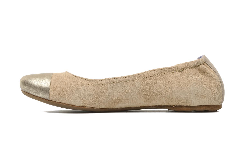 Ballerina's Khrio Telle Beige voorkant