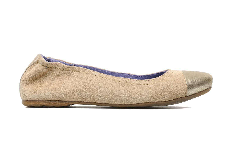 Ballerina's Khrio Telle Beige achterkant