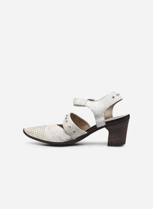 Zapatos de tacón Khrio Charone Blanco vista de frente