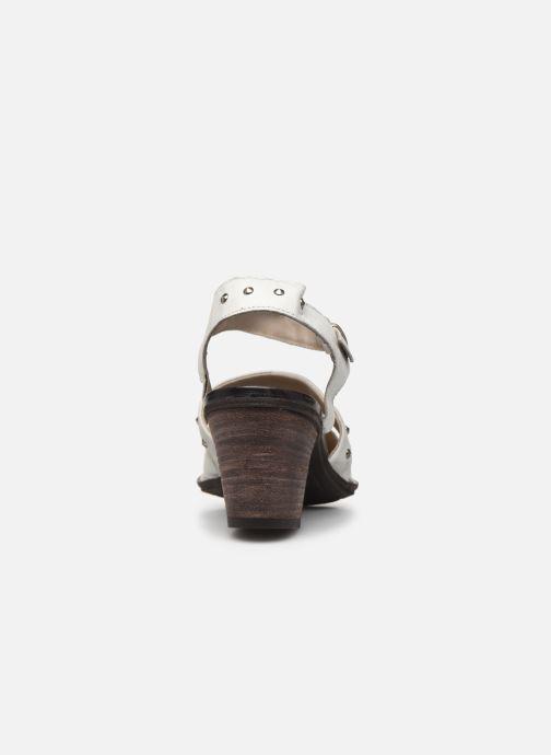 Zapatos de tacón Khrio Charone Blanco vista lateral derecha