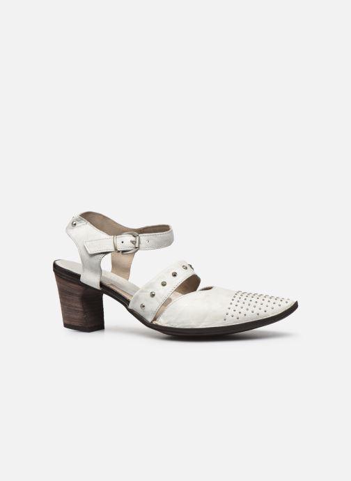 Zapatos de tacón Khrio Charone Blanco vistra trasera