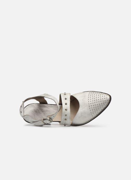 Zapatos de tacón Khrio Charone Blanco vista lateral izquierda