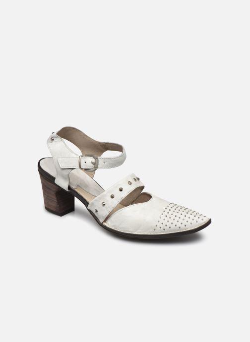 Zapatos de tacón Khrio Charone Blanco vista de detalle / par