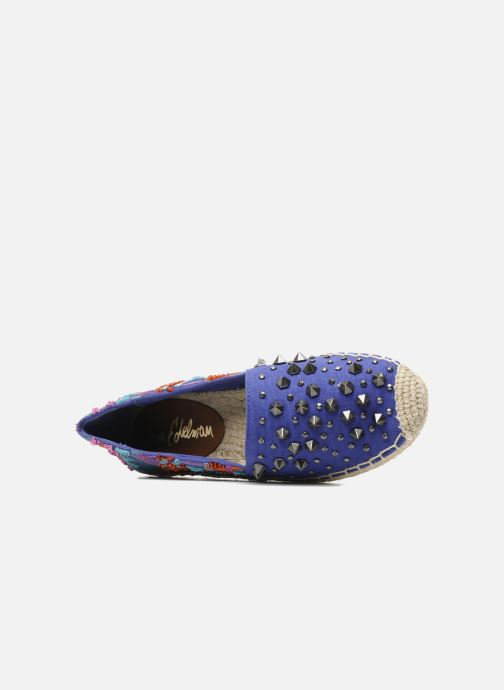 Espadrilles Sam Edelman Linsley Blue view from the left